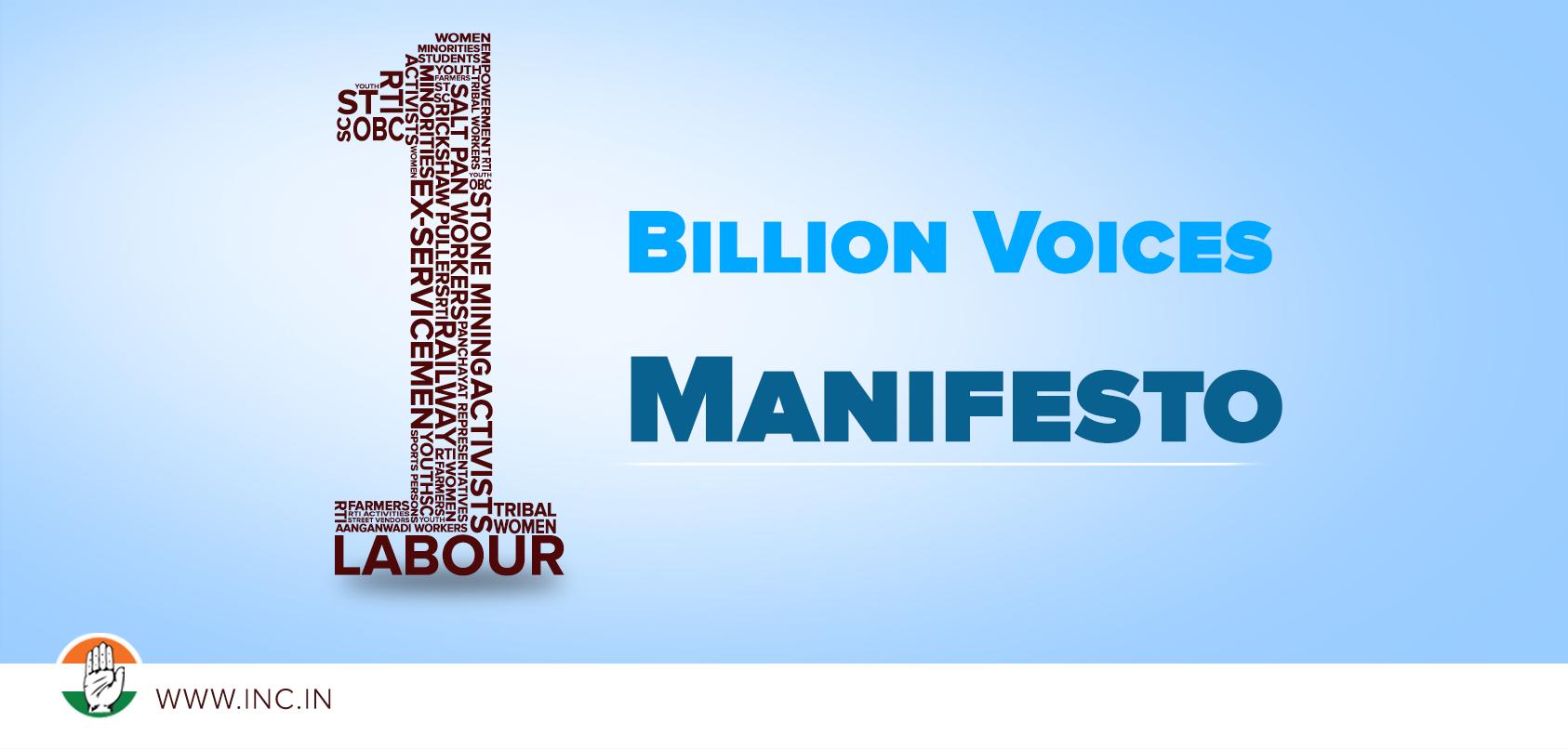 One billion voices