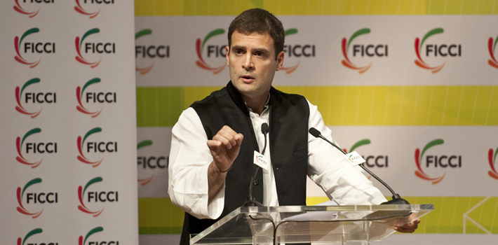 Industry are stakeholders of the Congress Party: Rahul Gandhi