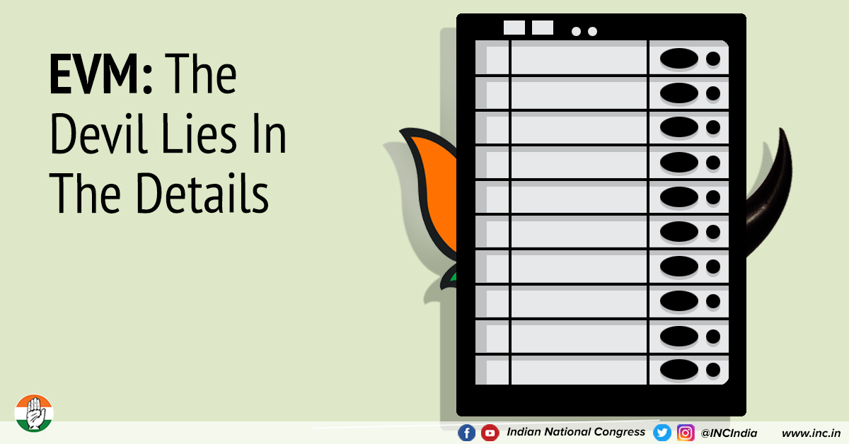 EVMs & BJP: A Fishy Tale