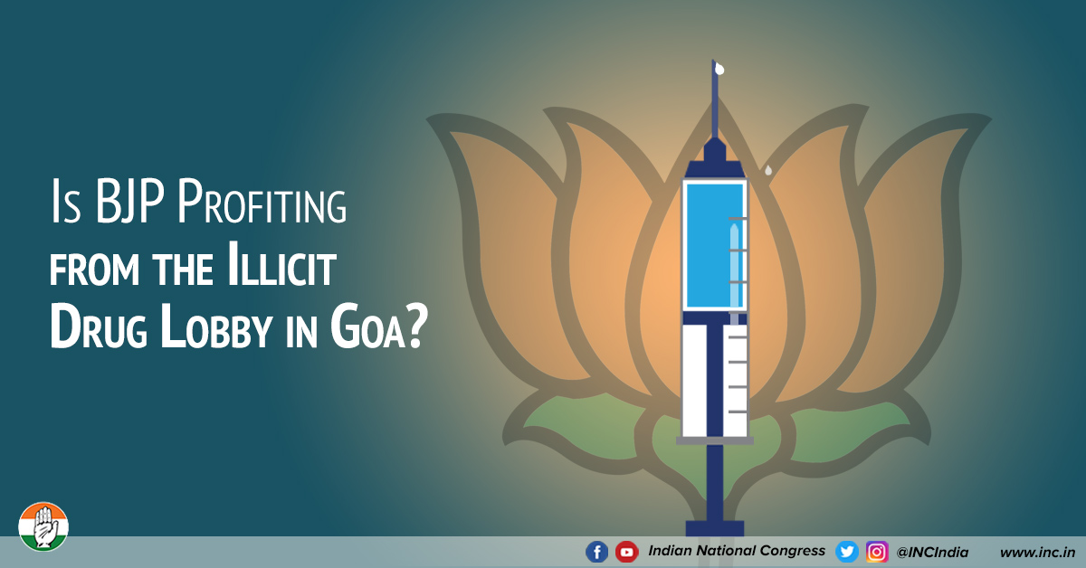 Is BJP profiting from the illicit drug lobby in Goa?
