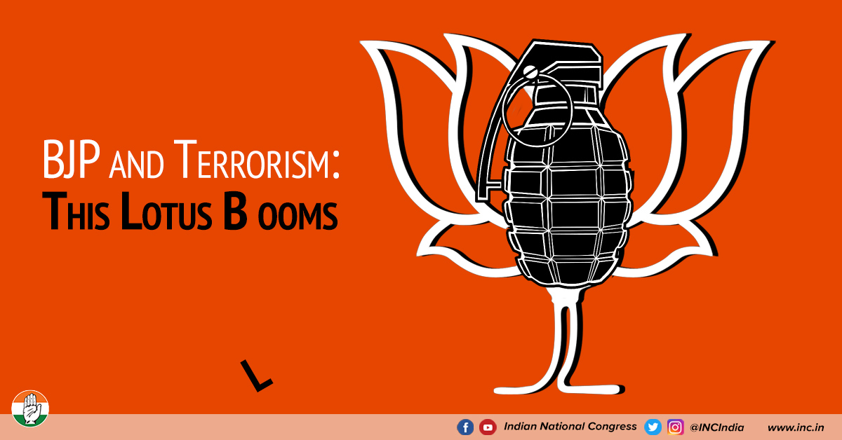 Bjp and terrorism aug2018 congress
