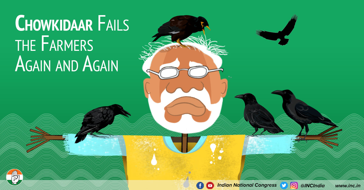 Modi vs farmers aug17 18 congress