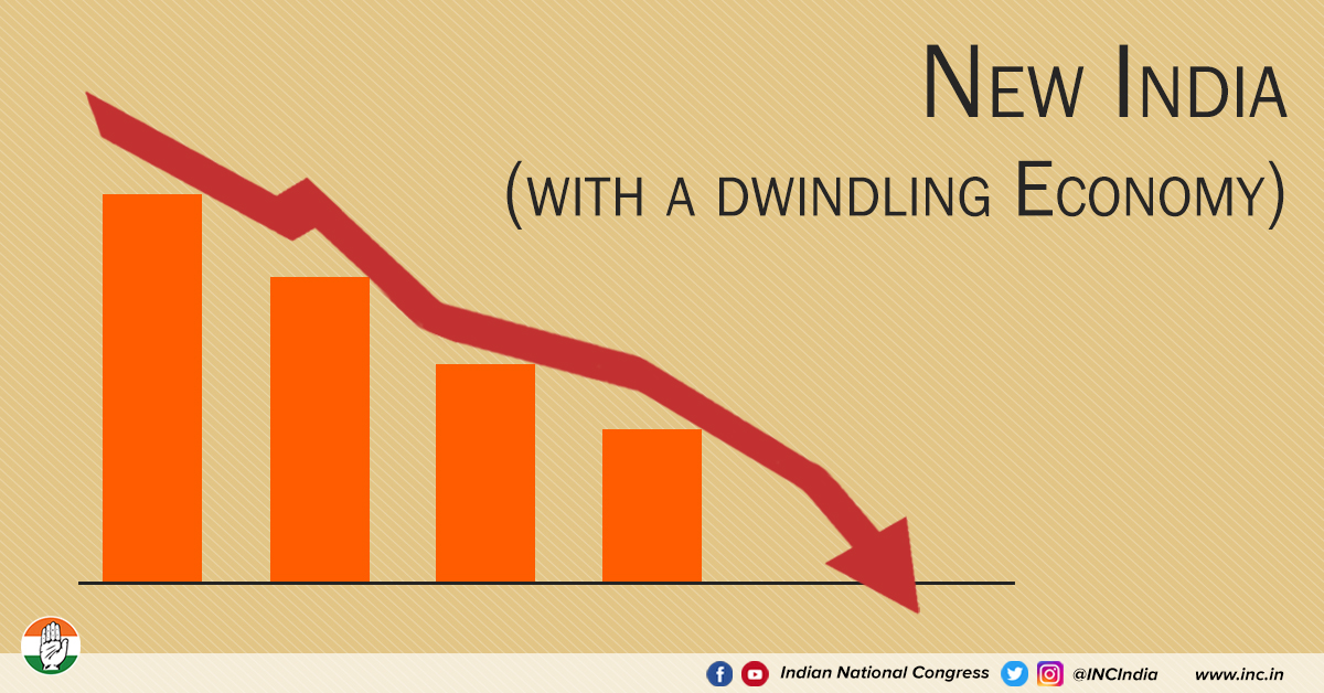 New india with a dwindling economy blog