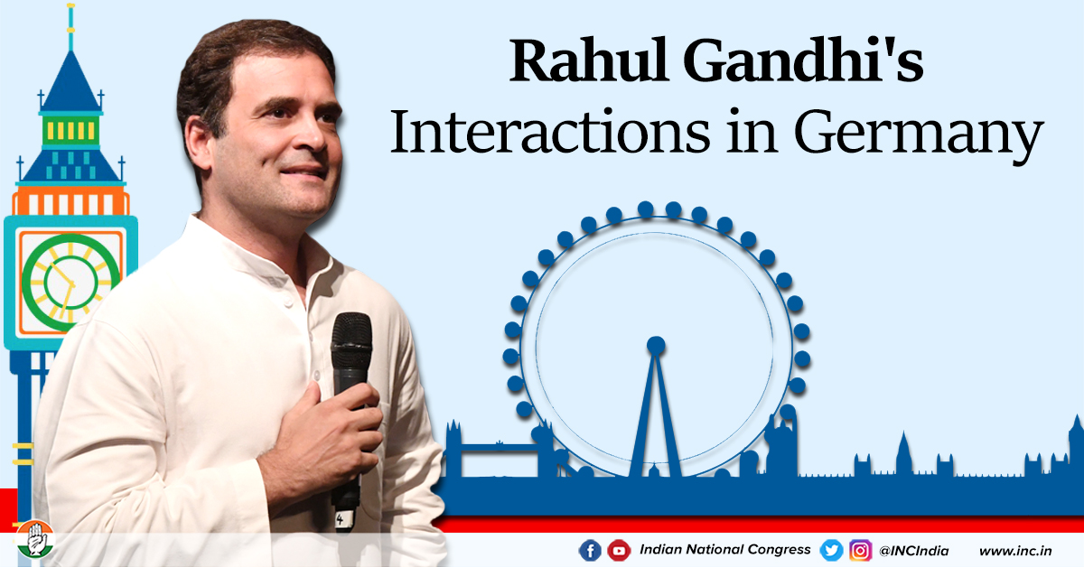 Rahul gandhi germany round up