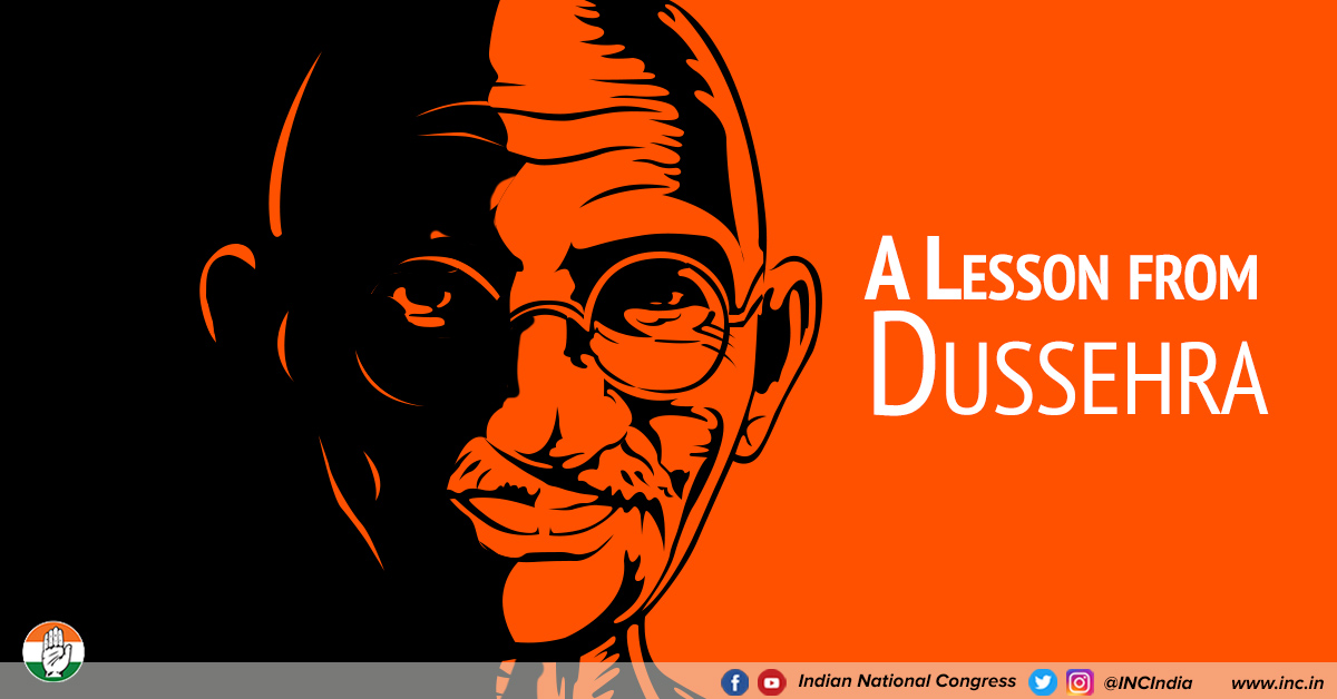 A lesson from dussehra oct 19 18 congress %281%29