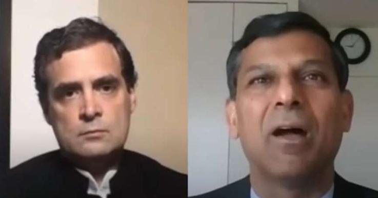 Rahul Gandhi Talks to Ex-RBI Governor Raghuram Rajan