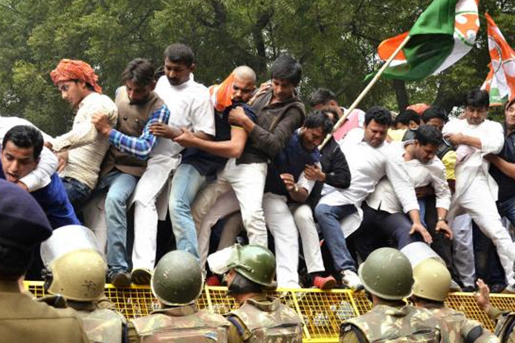 Youthcongress protest