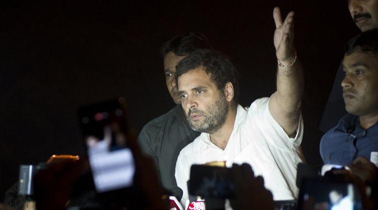 Rahul gandhi orop